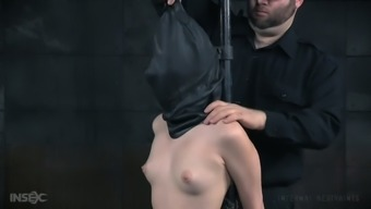 Beautiful woman Aria Alexander is punished by one changed bf