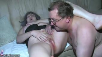 Attractive nurse shower granny, Granny with the use of grandpa have intercourse
