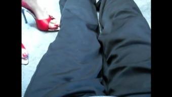 substantially high heel flatten - 2(two)