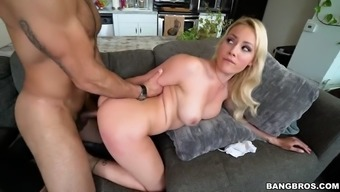 using kylie page's posterior for ability taking the phallus