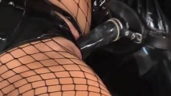 Astounding Latex Fetish Fuck!