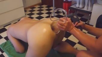 Fisting, anus station, penis send, physician, nurse