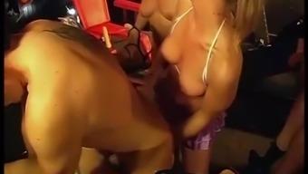 one night-time inside a in german swinger club