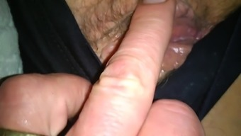 Neighbours ejaculate filled pussy