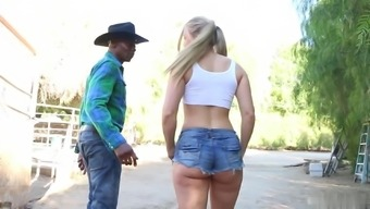 Sit back and watch how attractive blonde got profound fuck by optimal partner. He really treasures it.