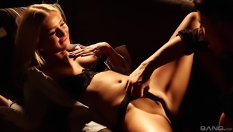Cayla Lyons serves as a gorgeous babe who wants to get ravished