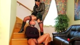 beautiful Female friend Renata Matchless loves her slave man