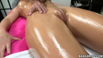 smoking heated pornography professional chandler marie savours attractive rubdown
