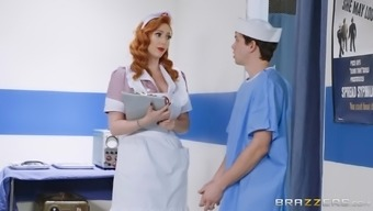 Big tits star clinician Lauren Phillips is able to manage her sufferer