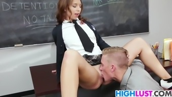 schoolgirl ariana grand gets rammed