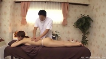 Japanese people product with an arousing entire body gets an erotic massage therapy