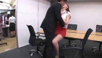 have sex by using pretty workplace girl