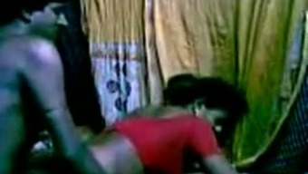 Horny Indian maid got fucked complicated in her puss by pal in her own create space