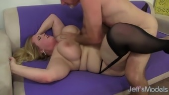 Great Boobed bad fats pussy fucked