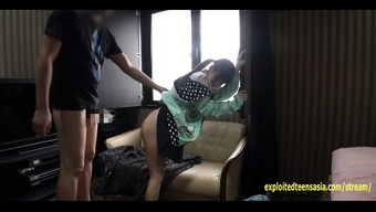 Small Jav Youngster Fucks In Her Hoodie Located on the Couch Really Gorgeous