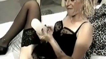 attractive senior Elisabeth Cent Popular Nasty Insertions(ctrent)