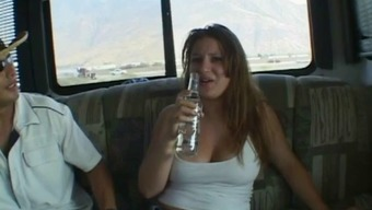 Big tits suntanned hen gets association fucked inside my worth vehicle