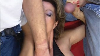 Grow older ladies fucked and creamed, almost bukkake