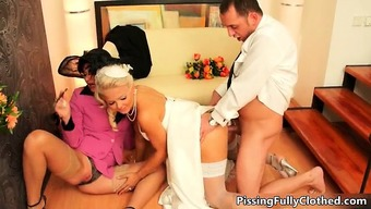 Perverted bride to be and her horny mother part6