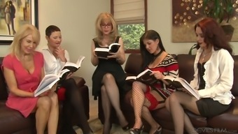 Nina Hartley is arguably one bootylicious age girl and she or he loves lesbian orgies