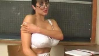 Rukhsana coach enjoy her great boobs