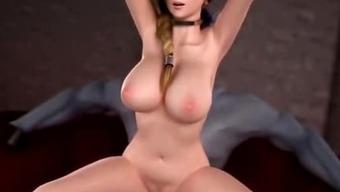 Crazy animation takes big penis