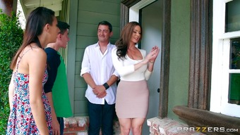 Horny MILF Kendra Lust is definitely delighted to obtain enjoyable along with school males