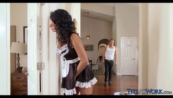 Attractive Maid gets Dick practical