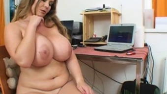 Adorable date with colossal vast boobs enjoy her cunt