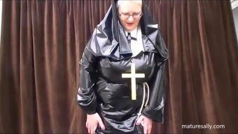 Precisely what does a nun choose under her routine!!!!