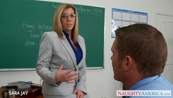 MILF Coach Sara Jay fuck student