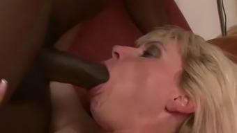 GILF exploded inside the butt using a vast mordant donger
