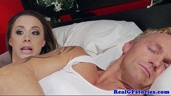 Housewife assfucked by a late at night burglar