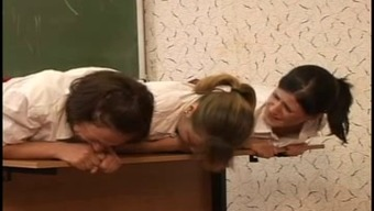 3 usrr schoolgirls caned