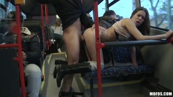 Hard intercourse within the masses public bus when it comes to the horny Bonnie