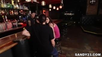 Casey Calvert fucks on a bar