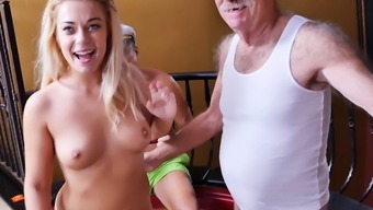 Kenzie Orange Tries Anal By using Old Men