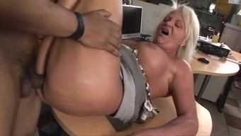 horny hungarian senior removed and fucked