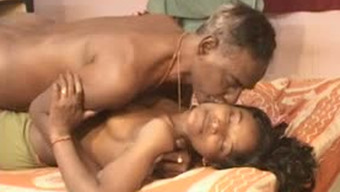 Skinny and old freak bangs his delectable young wife