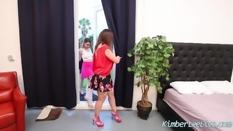 Kimber Lee in every Krown 3Some by using Sara Jay & Maggie Ecological!