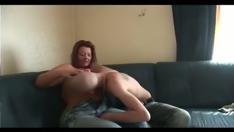 This plus size hooker isn't happy except she's getting fucked like the grimy slut