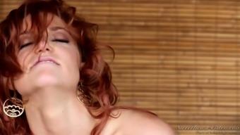 Luxurious lesbian Allie Smog is facesitting her great blond GF