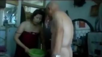 Fucking a Oriental Granny