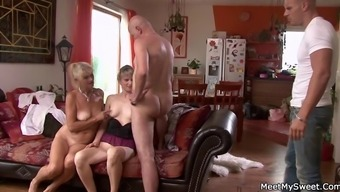 He detects her fucking via his olds!