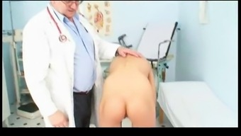 Thin Angela Visit At The Doctor BVR