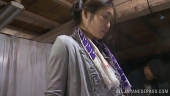 Intense reality clip along with Japanese people hussy taking pleasure in backed knocking