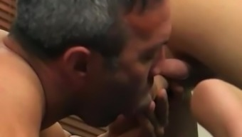Teenager dude small cock fuck joyful Beefy Brock