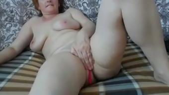 Amica matura in cam