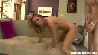 Blond Sexy Mom Tanya Tate Fucking Her Best Friend's Youngster