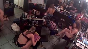 Getting dressed room cam